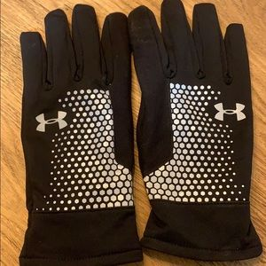Under Amour Gloves with grip! Sz XL awesome